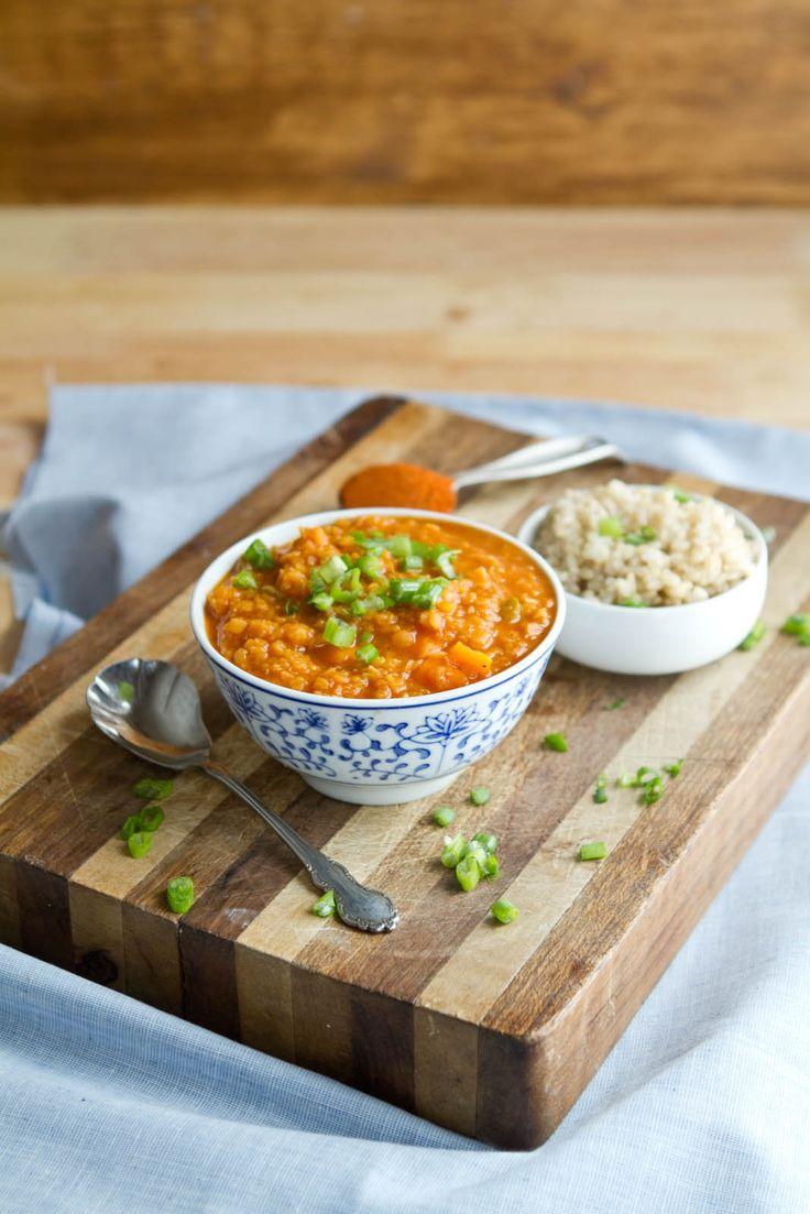 Coconut Curry Red Lentil Soup | Recipe
