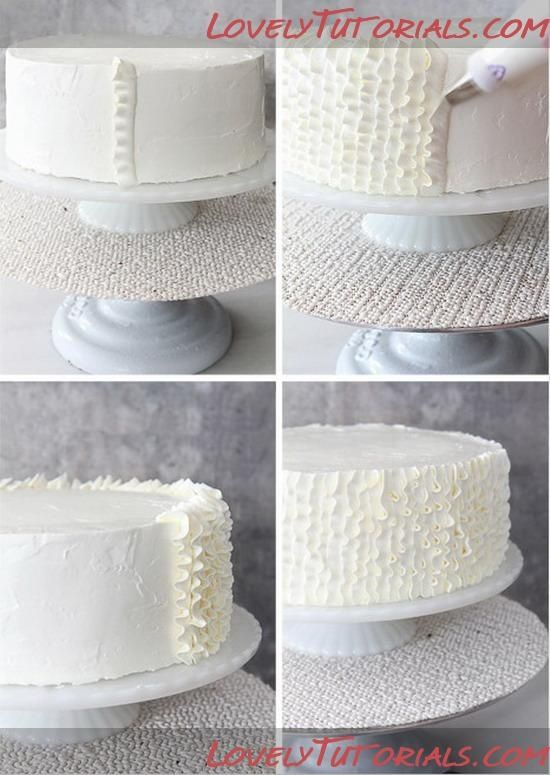 Cake Decorating Icing Techniques : Pinterest