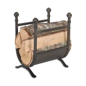 ball claw fireplace wood holder
