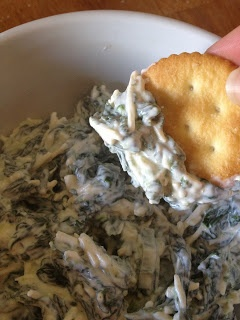 Creamy Parmesan Spinach Dip | Deliciousness! | Pinterest