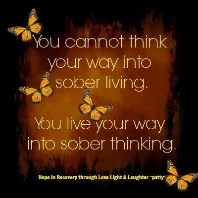 living sober quotes quotesgram