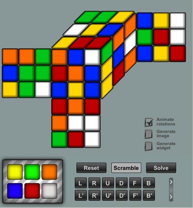 All About Online Rubiks Cube Solver Ruwix Kidskunstinfo