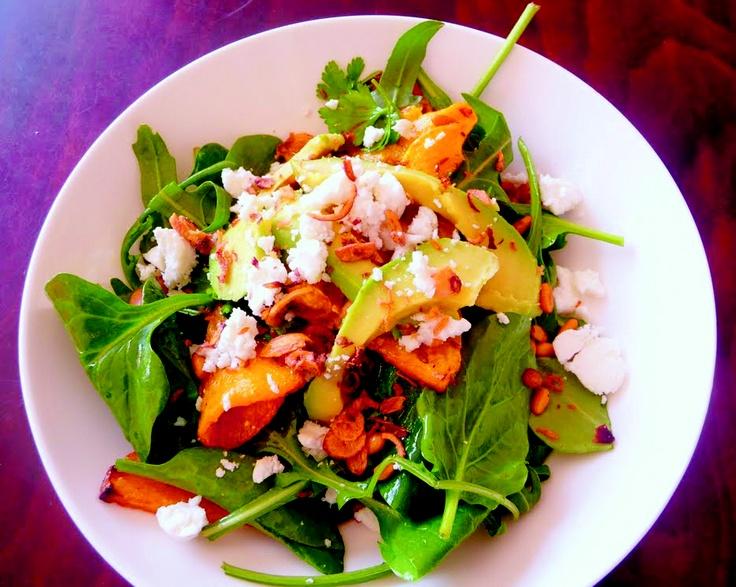 roasted pumpkin salad | Food | Pinterest