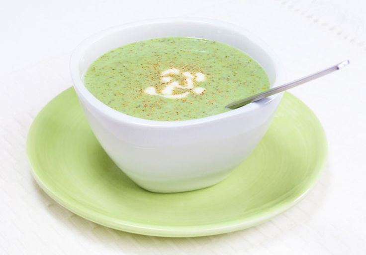 Curried Cream of Broccoli Soup ~ Delicious and filling at a little ...