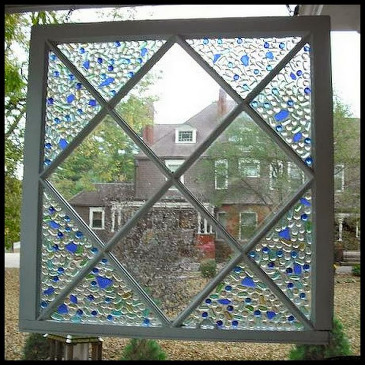 glass bead window frame craft ideas and tips