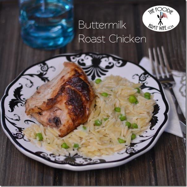 Buttermilk Roast Chicken | Food 2 | Pinterest