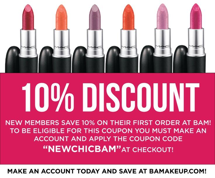 ... mac #bam #bamakeup #byanymeansmakeup #coupon #save #makeup #promo #