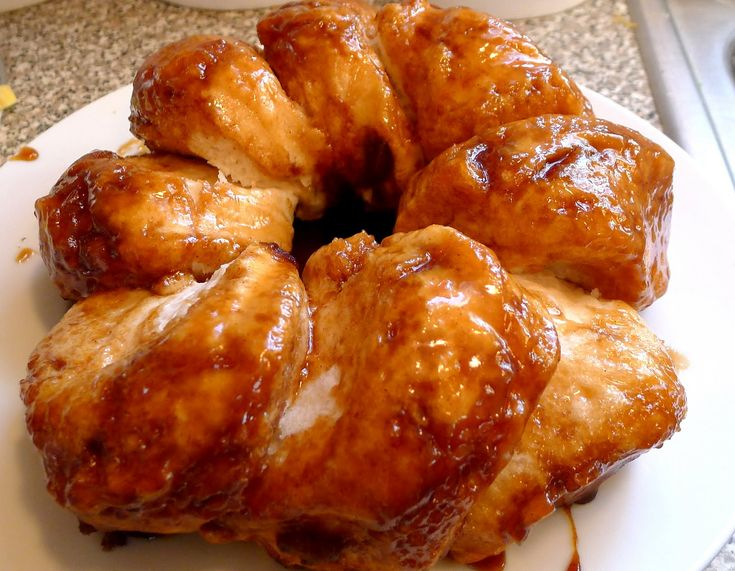 Silver Pencils: Quick and Easy Homemade Sticky Buns! Yum!