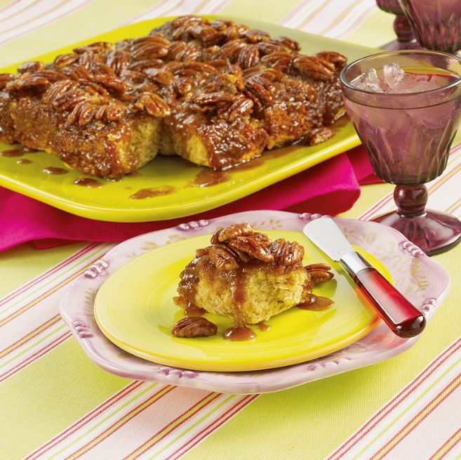 yummy caramel-nut sticky biscuits | FOOD...RECIPES | Pinterest