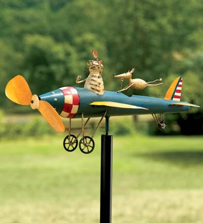 Weathervanes >> Whirlygig | Better Homes and Gardens | Pinterest
