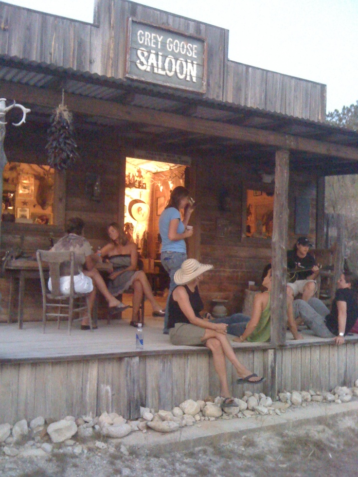 Grey Goose Saloon, Bandera, Texas