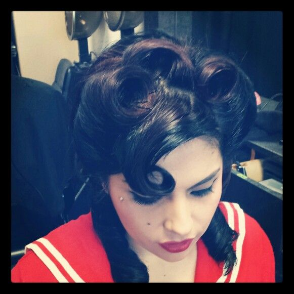 Rockabilly hairstyle style by valerie Picture of short brown japanese hairstyle
