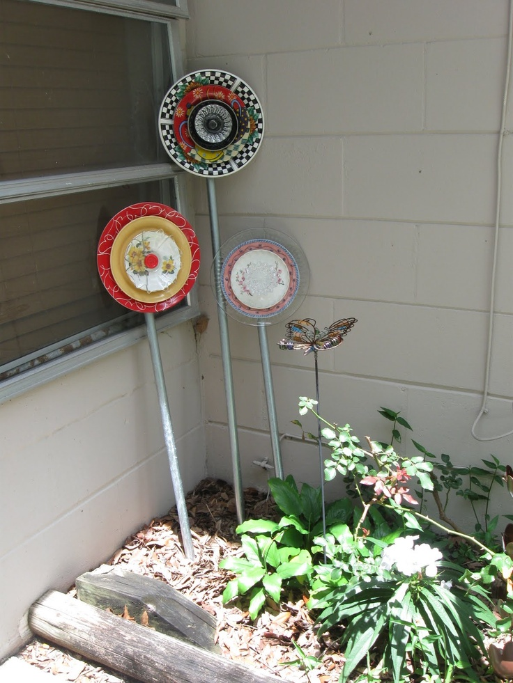 Garden art projects garden pinterest for Yard art ideas