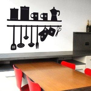 La Mia Cucina- Adesivi Murali - Wall Stickers per la decorazione della ...