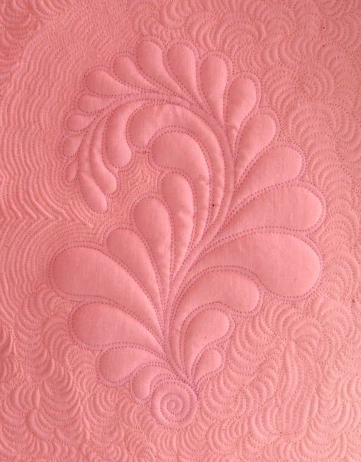 Free Quilt Patterns | quilted feathers the new way free motion machine quilting experience ...