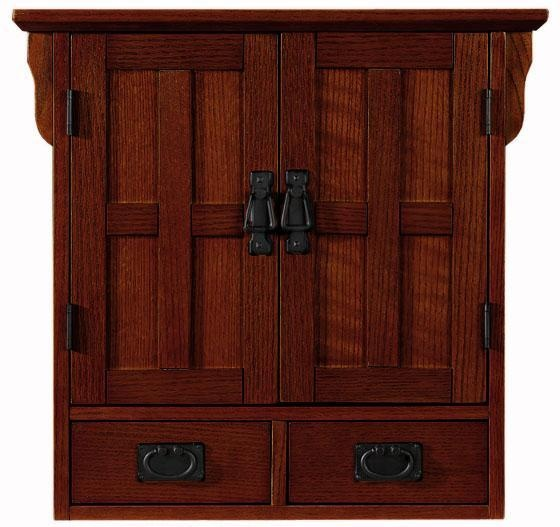 Craftsman Style Bathroom Wall Cabinets : Craftsman wall cabinet antiques