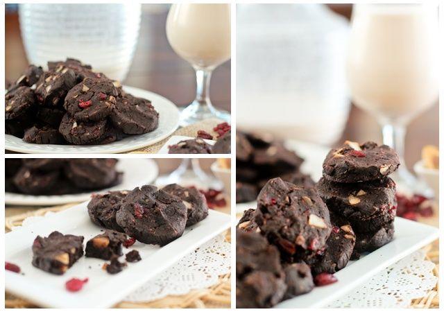 Double Dark Chocolate Cookies – The Healthy Version | Recipe