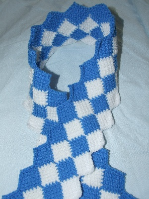 SPECIAL OLYMPICS SCARF PATTERN | Online Patterns