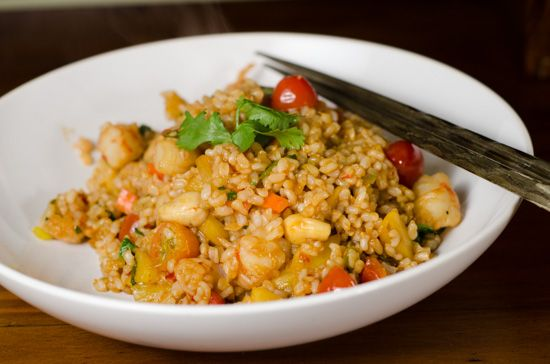 Pineapple and Shrimp Fried Rice | My Recipes | Pinterest