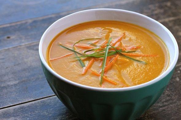 Carrot Soup   Soup & Stew   Pinterest