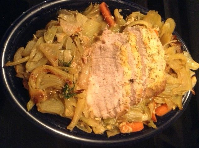 Roast Loin of Pork With Fennel & Onion Fast Metabolism Diet Phase 2 ...
