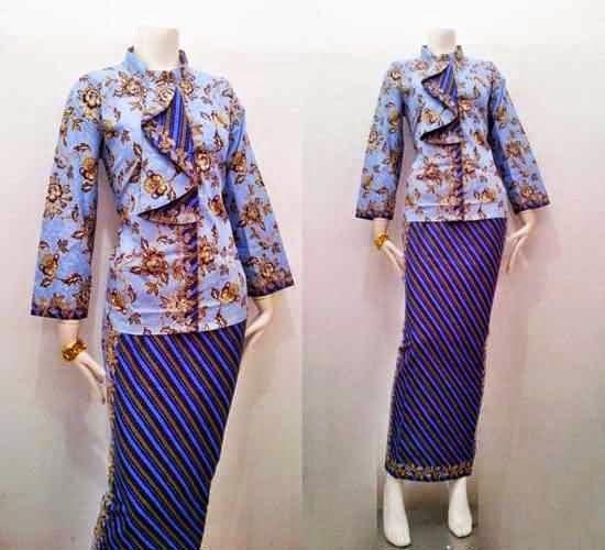 Pin by Batik Bagoes Solo on Women Blouse Batik | Pinterest