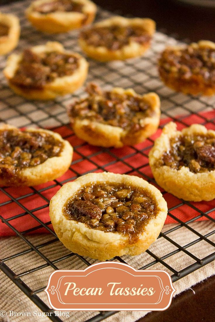 Pecan Tassies Recipe — Dishmaps
