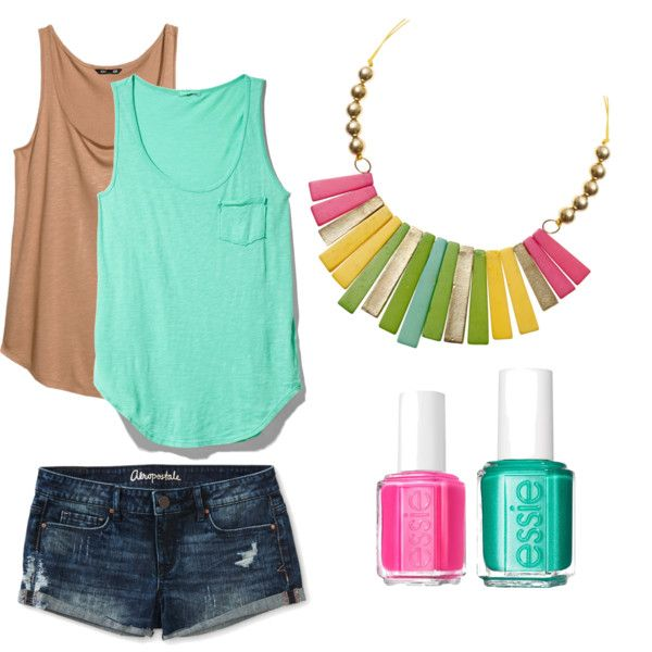"""summer 2014"" by lenahcaruana on Polyvore"