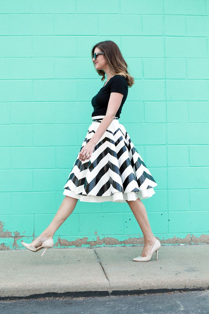What I Wore: Chevron Swirl on What I Wore