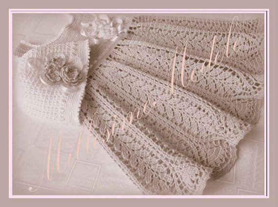 Vintage Crochet Baby Dress Pattern : Baby Dress Crochet Pattern Vintage Short News Poster