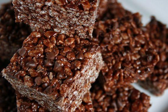 Triple Chocolate Rice Crispy Treats | Cakes, Cupcakes & Sweets | Pint ...