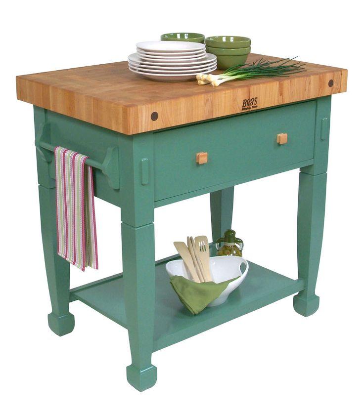 john boos jasmine butcher block table cutting boards