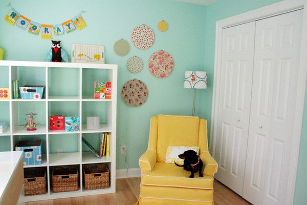 Nursery paint: Benjamin Moore Robin's Nest