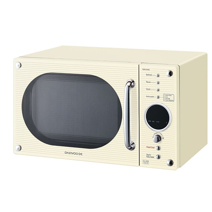 daewoo kor6n9rc microwave oven freestanding cream. Black Bedroom Furniture Sets. Home Design Ideas