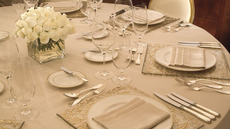 Fine Dining Table Setting Ritz Dining Tables Flowers & Fine Dining Table Settings - Castrophotos