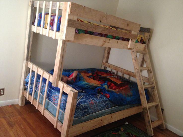 Diy Bunk Bed Boys Bedroom Ideas Pinterest