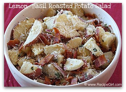 creamy lemon basil potato salad the pioneer woman creamy lemon basil ...