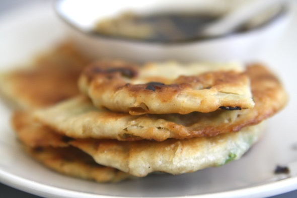 Chinese Scallion Pancakes | E A T S | Pinterest