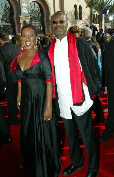 CCH Pounder and husband Boubacar Kone