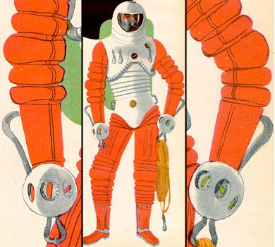 50s space suits - photo #42