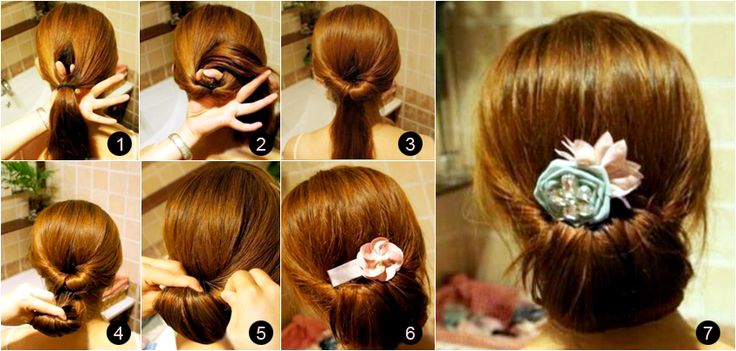 DIY From beachy waves to top knot, you