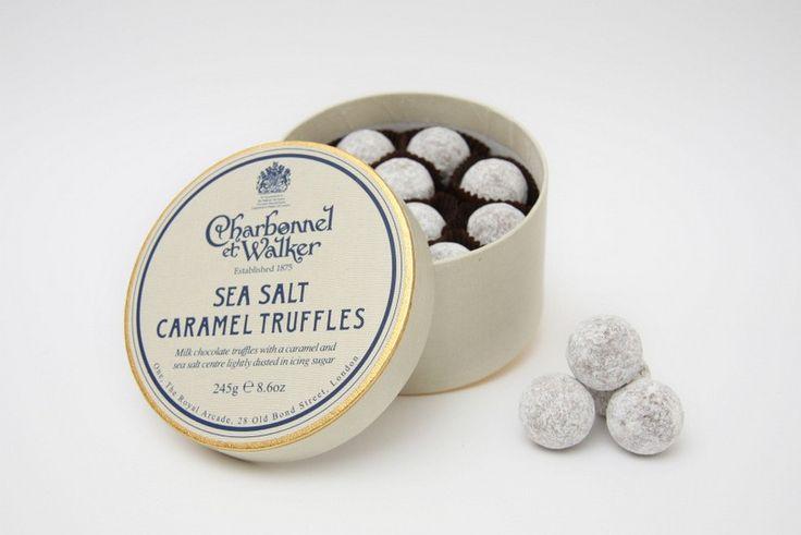 Sea Salt Caramel Truffles 245g | one piece at a time | Pinterest
