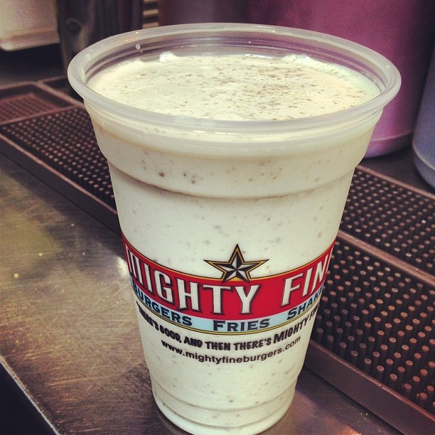 ... Banana Cream Pie Shake is back for a limited time! #MightyFine #Banana