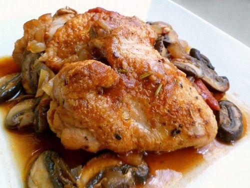 Chicken Cacciatore (Hunter Style Chicken) Recipes — Dishmaps