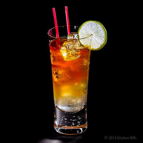 Dark and Stormy Cocktail | cocktails | Pinterest