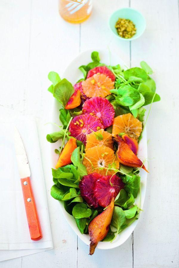 Roasted Beet, Blood Orange & Mixed Green Salad | Recipe | Joy of ...