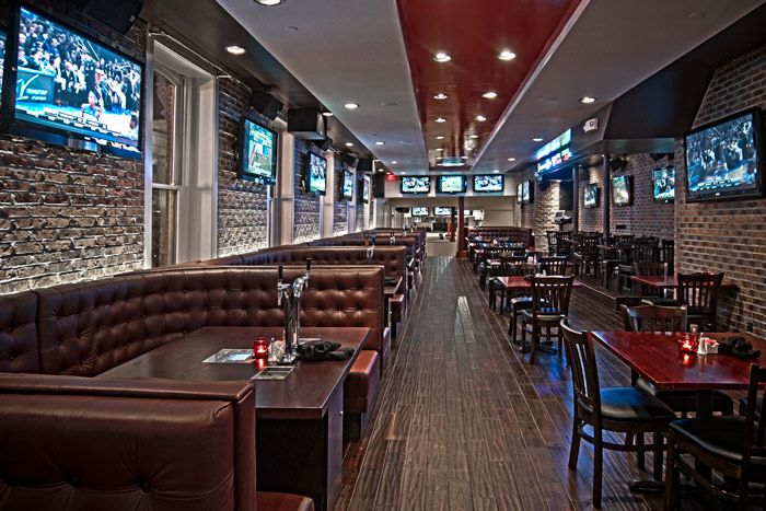 6 Sports Bar Interior Design Upscale Sports Bar Sports Bar Pinterest