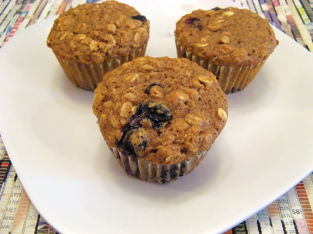 Oatmeal Blueberry Applesauce Muffins | Recipes to Try-Breakfast | Pin ...