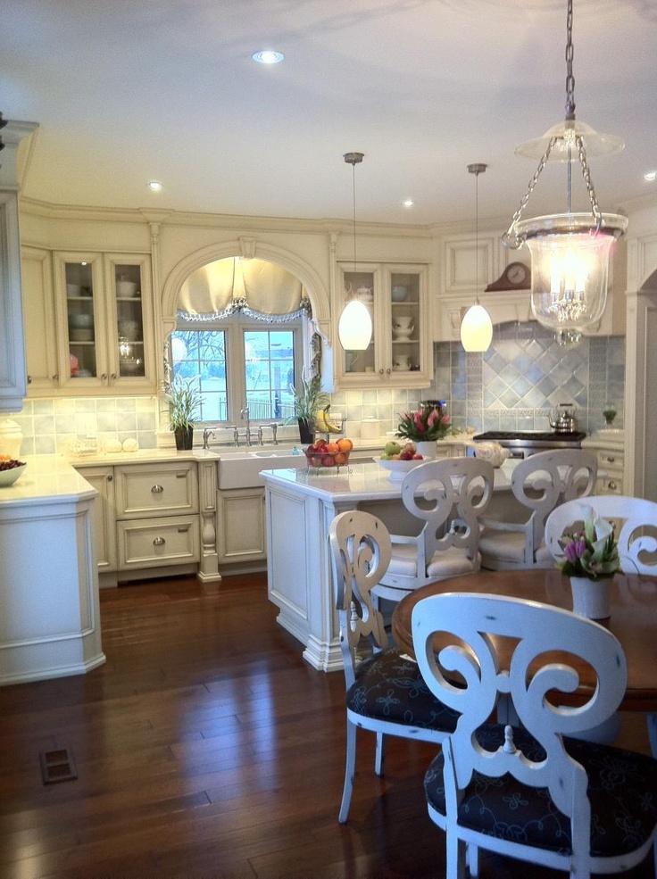 Elegant Country Kitchen Future Home Kitchens Pinterest