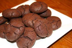 Midnight Crackle Cookies   Food - Dessert - Cookies   Pinterest